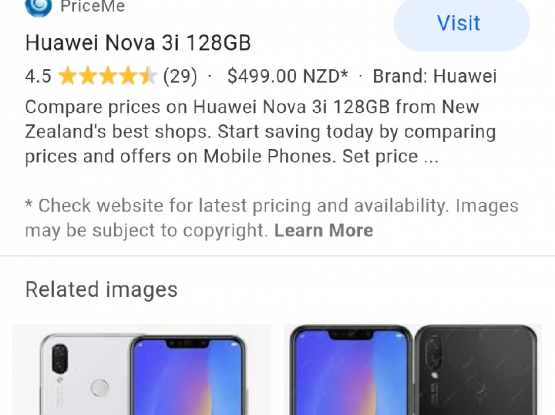 Huwaei nova 3i