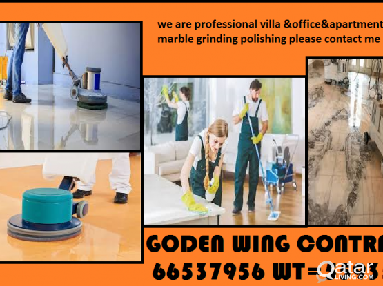 MARBLE GRINDING POLISHING STAIN REMOVING CLEANING