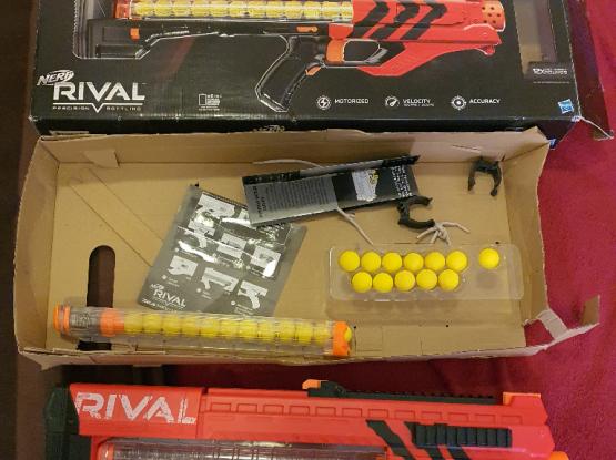 Nerf Rival Zeus toy gun