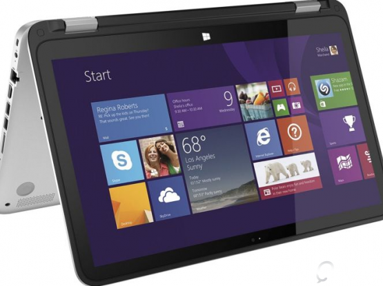 HP Envy 360 degree laptop , can be used as a touch tablet