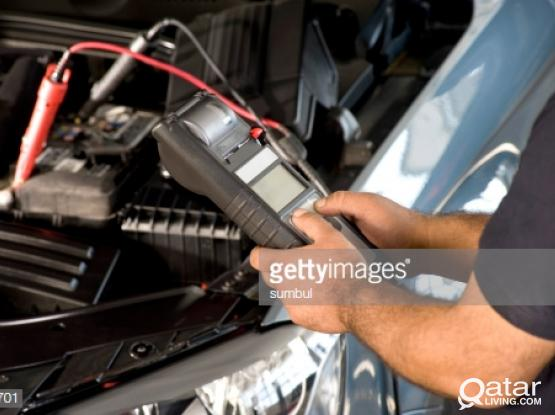 Replace battery any where in Qatar . Contact 77056839
