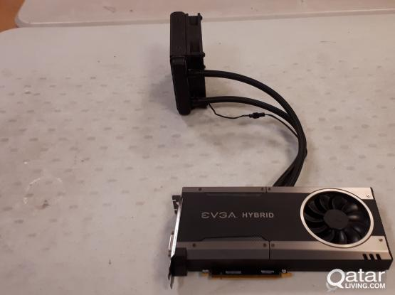 EVGA GTX 1070 8GB water cooled Graphics Card