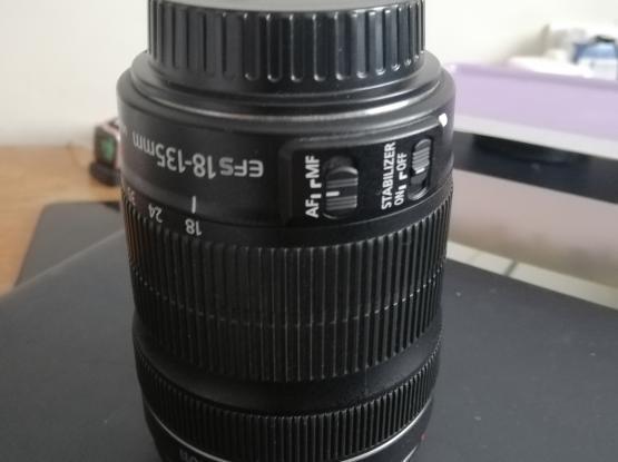 Canon Lens 18-135 mm