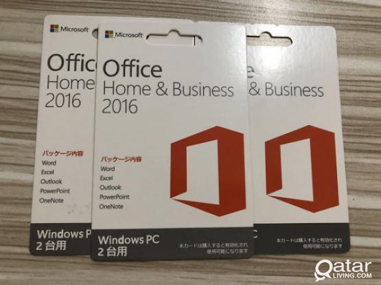Microsoft Office 2019 / 2016,Windows 10pro