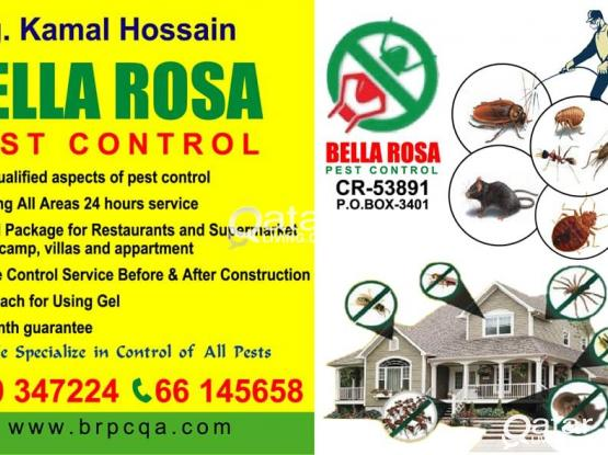 Bella Rosa Pest control and Disinfection  Treatmen