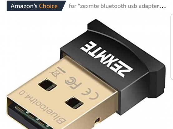 Looking for blutooth usb adaptor for my pc