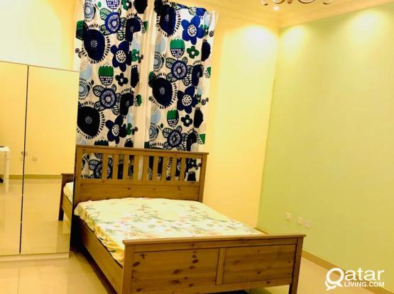 Full Furnished Stylich Studio Apartment~Near Villagio and Salwa Road