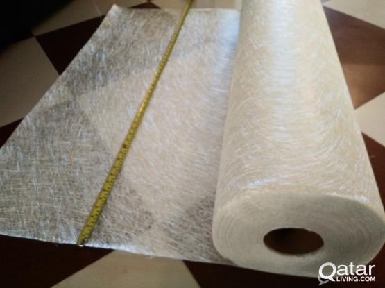 Fibreglass chopped strand mat (and Resin/Hardener)