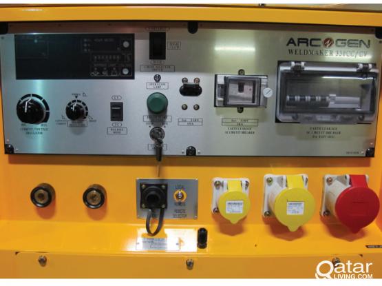 Industrial Welding Generator for Rent