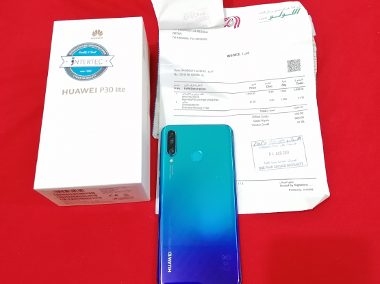 P30 lite with 1 year and 3 months Warranty
