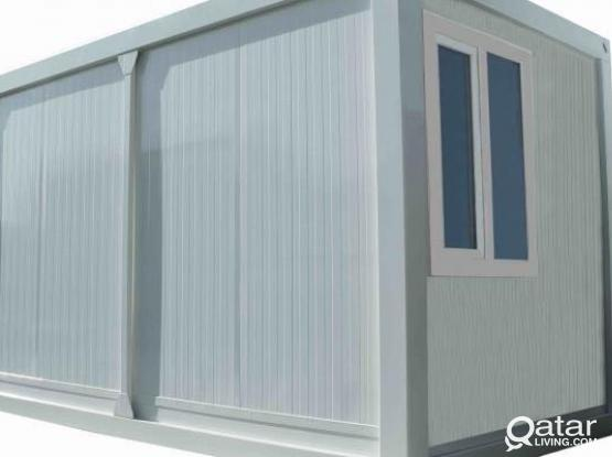 OFFICE CONTAINERS / SECURITY CABINS / PORTABLE CA
