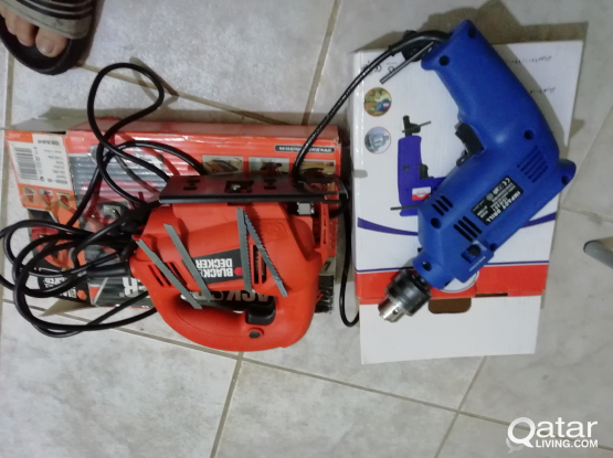 Jigsaw and Elec Drill for sale