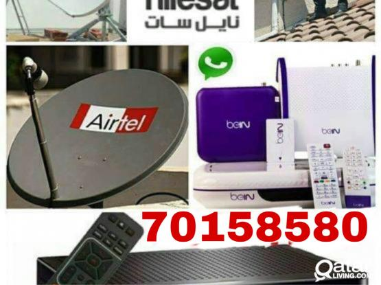 We do any satellite dish work please call me- 70158580