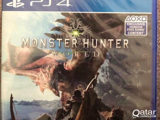 MONSTER HUNTER WORLD PS4 - UNOPENED