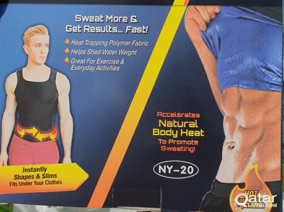Slimming shirt sweat فانيلة التعرق انزال الوزن