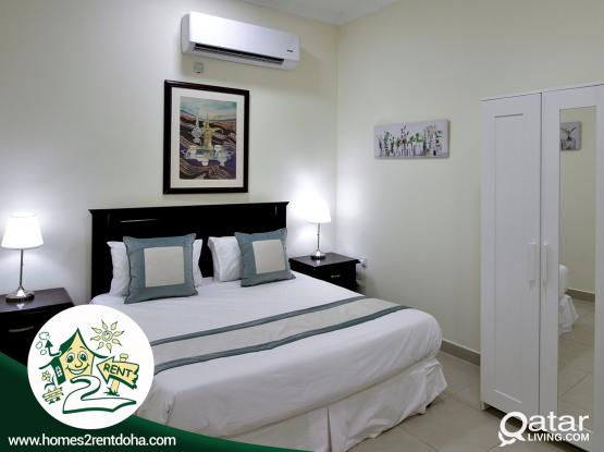 2BHK FULLY FURNISHED APARTMENT ! ALL INCLUSIVE (OLD AIRPORT)