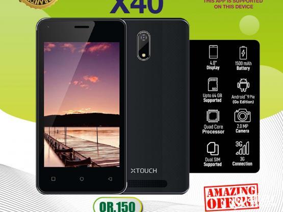 XTOUCH-X40 (EHTHERAZ SUPPORTED)- 150 QAR