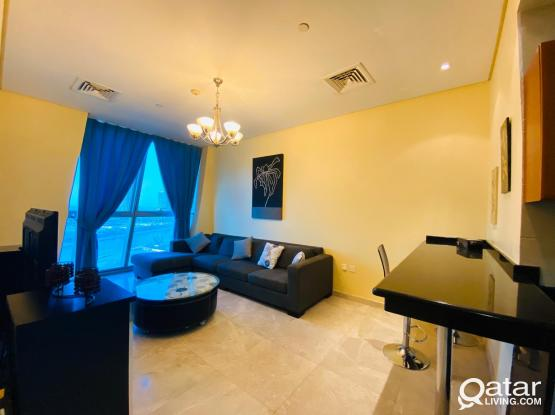 Luxurious Apartment  Fully furnished 2 BHK At Zigzag Tower A