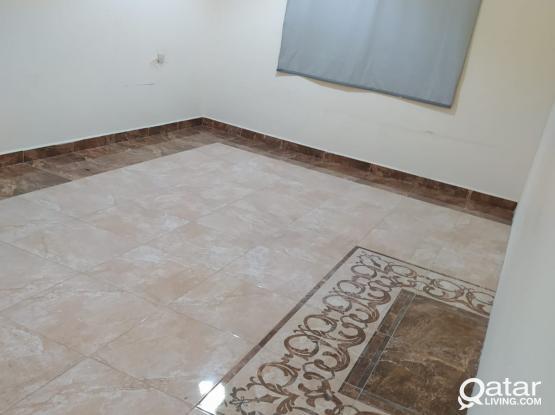 1 BIg bedroom,+ & full bath+ kitchen -AVAILABLE Qr.2400/- ONLY Bin Omran near wadi sail