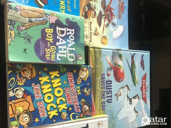 Children books as new