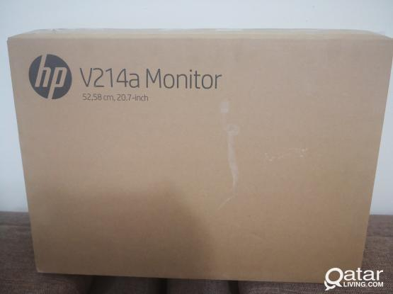BRAND NEW HP V214a 20.7 WIDE SCREEN LCD MONITOR