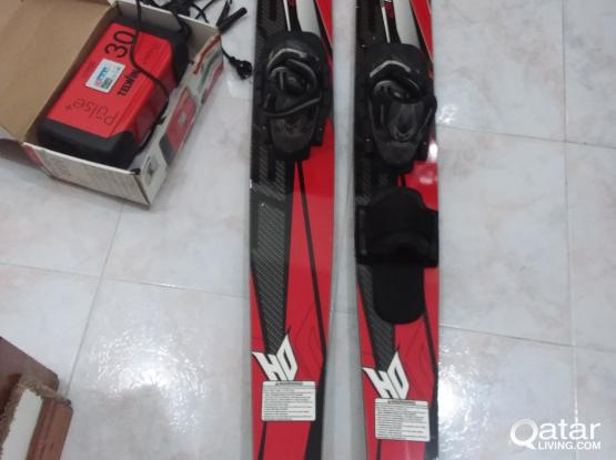 Excel waterskis and Telwin Pulse battery charger