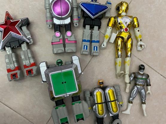 Power Rangers / Police Men / Transformers/ Hulk