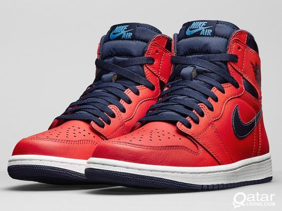 Nike Jordan 1 David Letterman Retro High OG Size 8 US