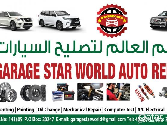Engine, transmission and many other mechanical works - Star World garage