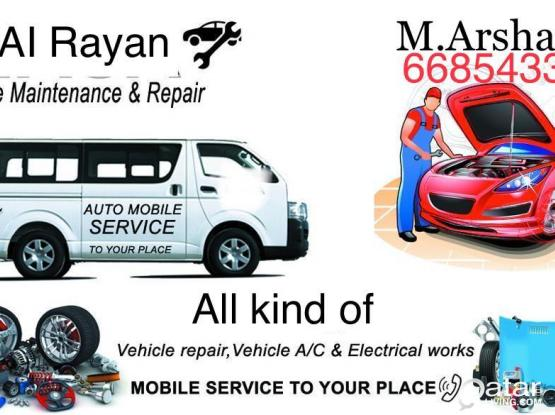 Automobile service to your place