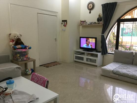 FULLY FURNISHED GROUND FLOOR BIG STUDIO FOR RENT IN OLD AIRPORT (MATTAR QADEEM}