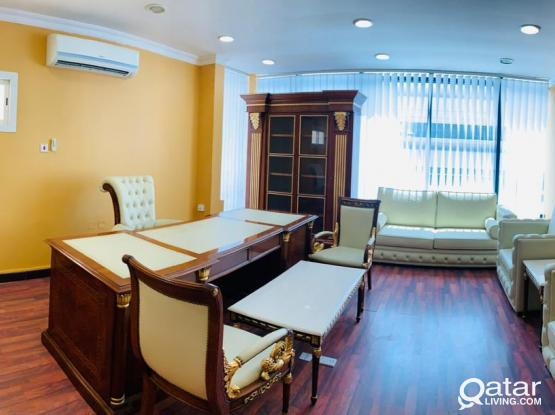 FULLY FURNISHED OFFICE SPACE AVAILABLE ON D - RING ROAD ***NO COMMISSION***