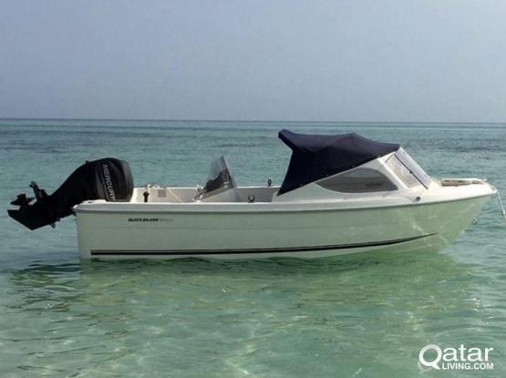 brand new Family boat