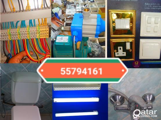 ELECTRIC, PLUMBING, CARPENTER SATELLITE  ELECTRICIAN, plumber, carpentery, maintenance, dish tv