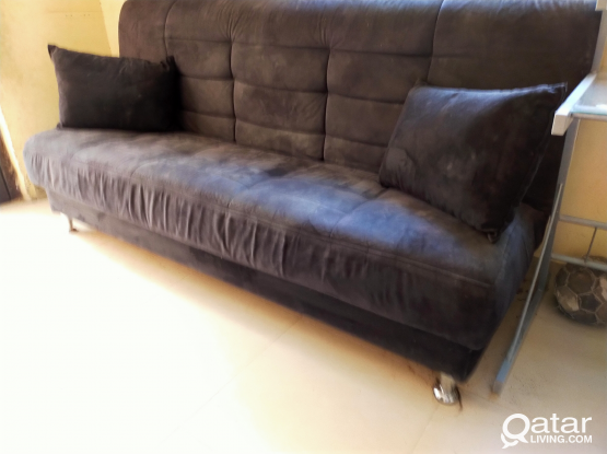 Convertable sofa/bed/storage free delivery
