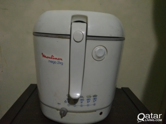 Deep fryer 2 litres. used only once free delivery