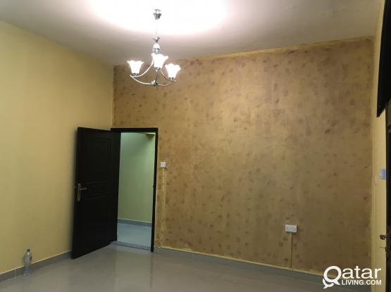 1 BIg bedroom,+ full bath+ kitchen -AVAILABLE Qr.2100 ONLY Old Airport Near lulu hypermarket