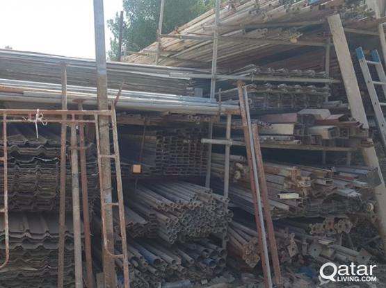 Used Building Materials (Jack, scaffolding,Wood, Plywood) available