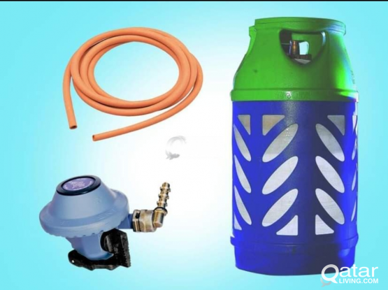 Gas cylinder with regulator 300 QR