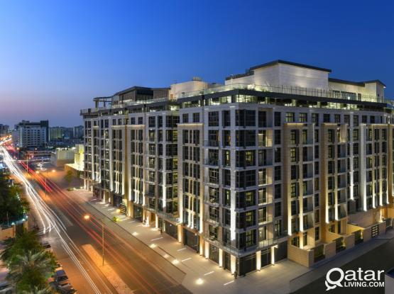 Retail Area in Luxurious Residential Building