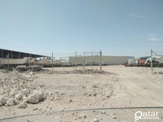 LAND WITH GARAGE FOR RENT IN INDUSTRIAL AREA