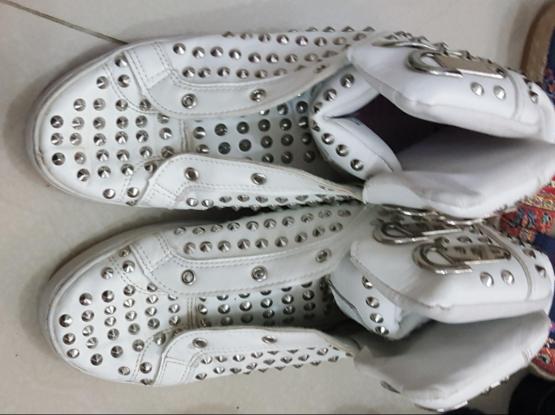 Faux shoes