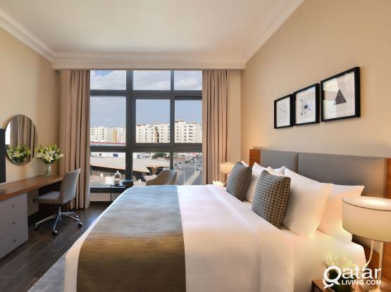 Amazing Furnished 2 Bedrooms Apt+Maid Room WCIGF