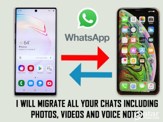 WhatsApp Transfer واتسآب نقل