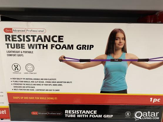Resistance Tube with foam grip