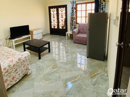 Fully furnished excellent 1bhk-Near Thumama stadium-No commission