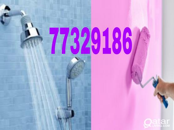 ALL KIND OF MAINTENANCE WORKS. Plumbing,Tiles, Paints,Gypsum Board,Carpet , Ac maintenance ,Electrician. Please call 77329186
