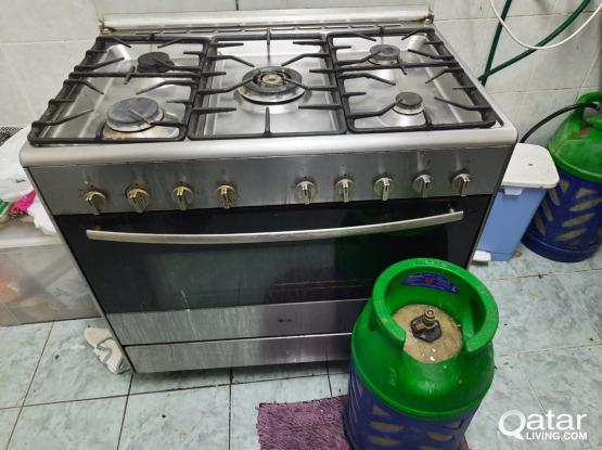 Cooking range, Dressing Table, Sofa, Dining Table, TV Unit for sale.