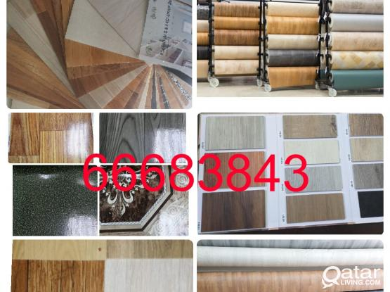 Plastic PVC Vinyl Parquet Wooden Flooring Sales And Fixing. CALL ME 66683843