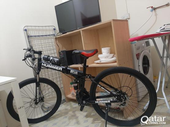 """Hummer 26"""" Foldable cycle, 3 Days used, 550 last price"""